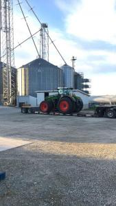 Our new Fendt arrived this spring!
